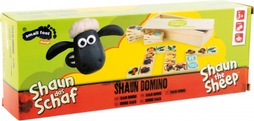"small foot company Holz-Domino ""Shaun das Schaf"" 28 Teile: DOMINO aus Holz"