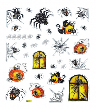 "HobbyFun ""Halloween"" Aufkleber, Design-Sticker-Set"