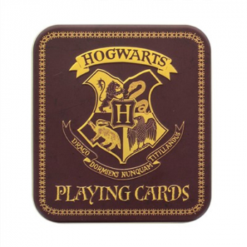 "Paladone Products - Harry Potter - Spielkarten ""Hogwarts"" in Metalldose"