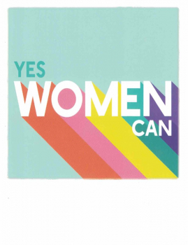 PolaCARD Yes Woman Can