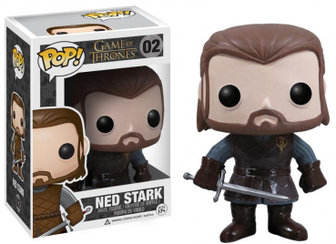 "funko - Game of Thrones, POP! ""Ned Stark"": Vinyl Figur, Größe: 10 cm"