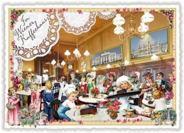 "Lali Nr CL 49 D /""Wer versteckt...?/"" Katzen Postkarte Wimmelkarte Postcrossing"