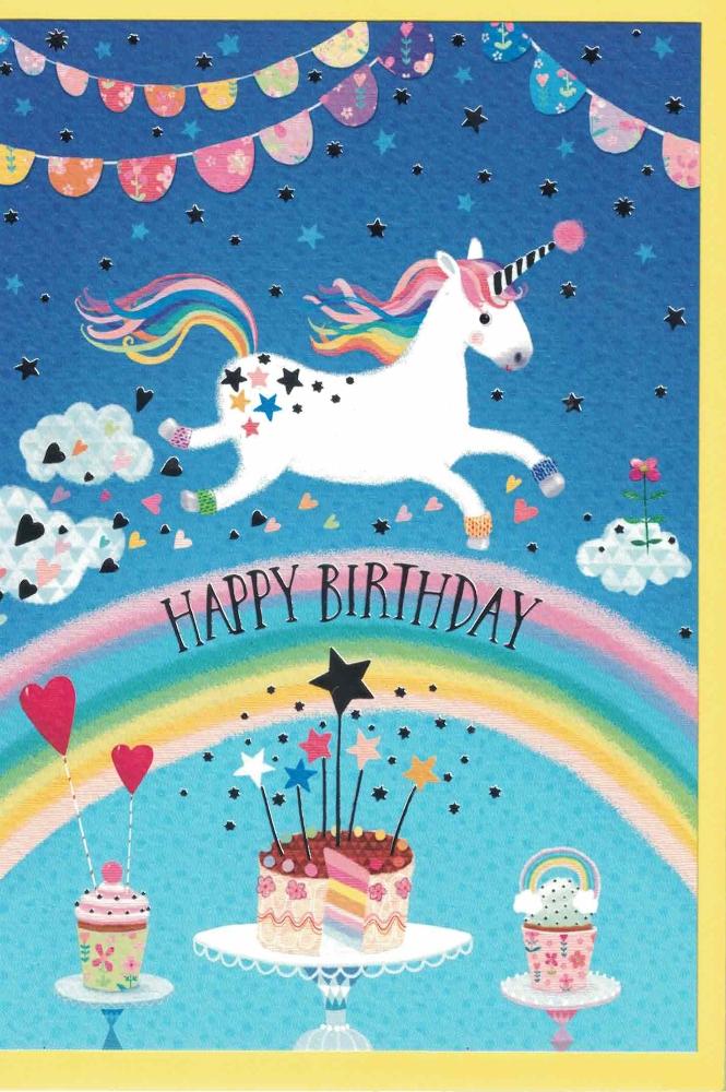 Loyal Plush Edition Gollong Mila Marquis Happy Birthday Einhorn