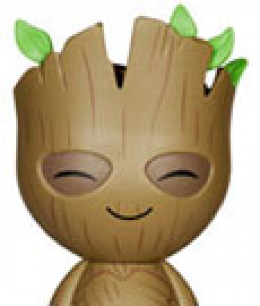 "funko - Guardians of the Galaxy, DORBZ Vinyl Sugar ""Groot"": Vinyl Figur, Größe: 8 cm"