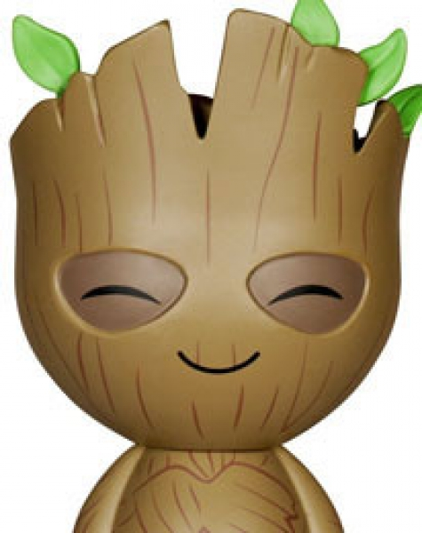 "funko - Guardians of the Galaxy, DORBZ XL ""Groot"": Vinyl Figur, Größe: 15 cm"