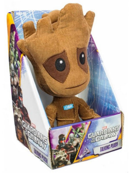 "underground-toys Guardians of the Galaxy ""Groot"" mit Sound: Plüschfigur, Größe 23cm"